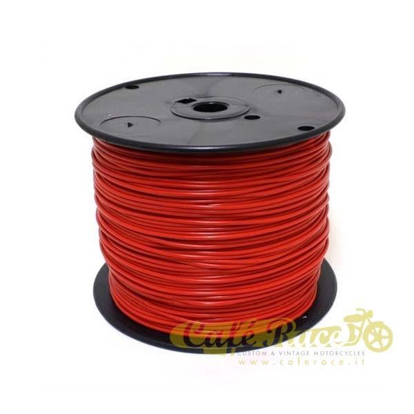 Cavo elettrico 0,8mm colore rosso
