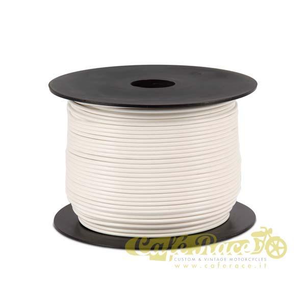 Cavo elettrico 0,8mm colore bianco