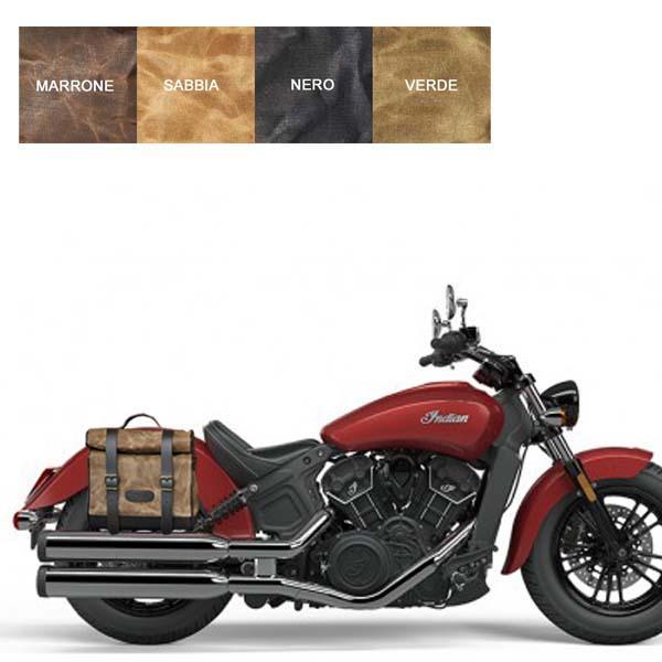 Kit borsa piccola + telaio DX INDIAN SCOUT