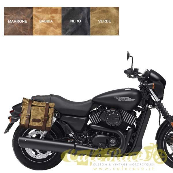 Kit borsa piccola + telaio DX HARLEY DAVIDSON Street 500 - 750