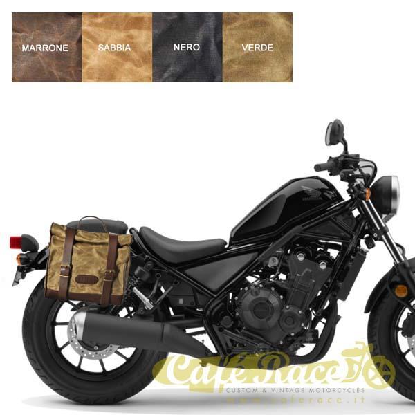 Kit borsa piccola + telaio DX HONDA Rebel 500