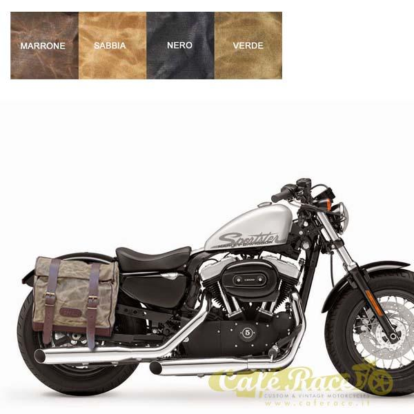 Kit borsa grande SX + telaio Harley Davidson Sportster