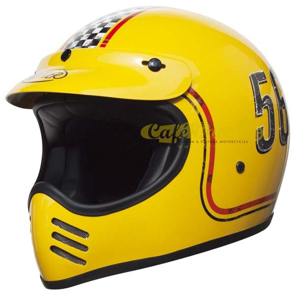 Casco integrale Premier MX FL 12 giallo in fibra