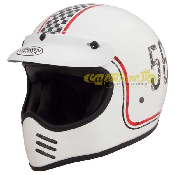 Casco integrale Premier MX FL 8 in fibra