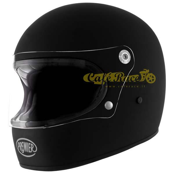 Casco integrale Premier TROPHY U9 Nero opaco in fibra
