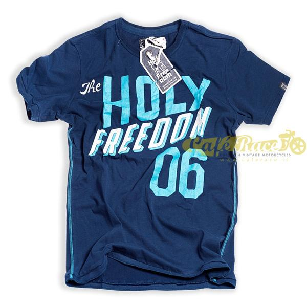 T-shirt Holy Freedom Team Blue tg.S