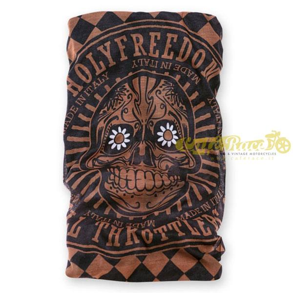 Bandana scaldacollo Holy Freedom GOLDEN SKULL