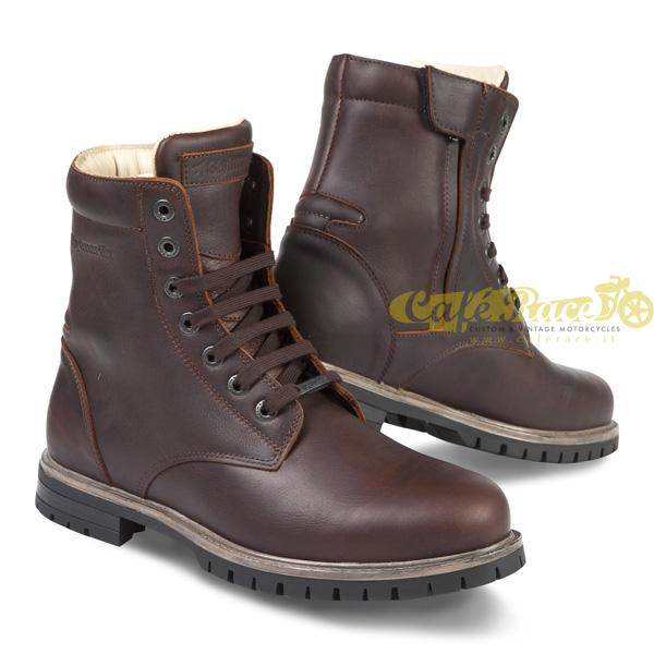Stivali Stylmartin Ace in pelle tan brown