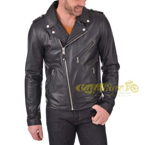 Giacca SCHOTT ICON PERFECTO LEATHER BLACK tg. L