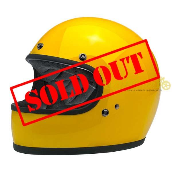 Casco integrale SAFE-T YELLOW Biltwell Gringo DOT