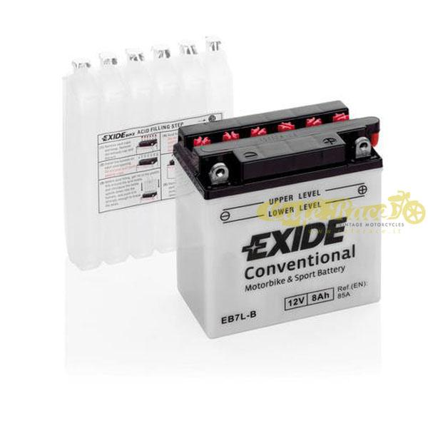 Batteria Exide Bike Conventional 12V-85A 135 x 75 x 135 mm