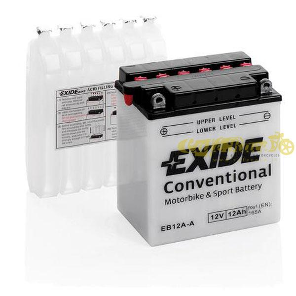 Batteria Exide Bike Conventional 12V-165A 135 x 80 x 160 mm