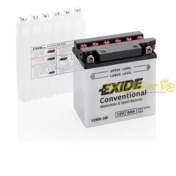 Batteria Exide Bike Conventional 12V-85A 135 x 75 x 140 mm