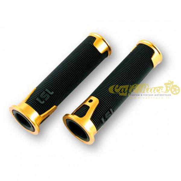"Manopole LSL ERGONIA GOLD Ø 7/8"" - 22mm"