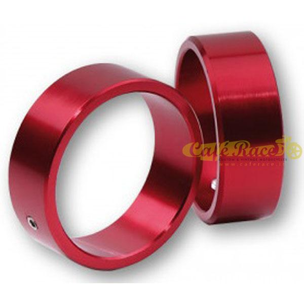 Anello colorato HIGHSIDER red per contrappesi da manubrio