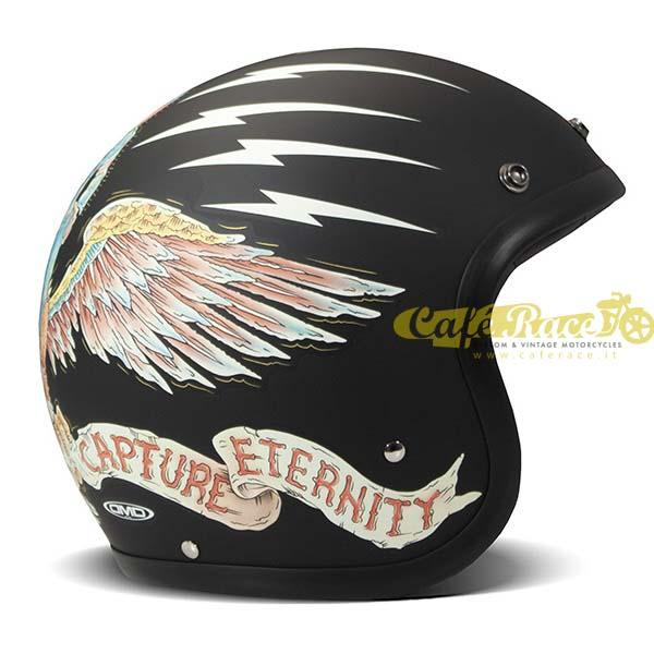 Casco jet DMD Vintage EAGLE