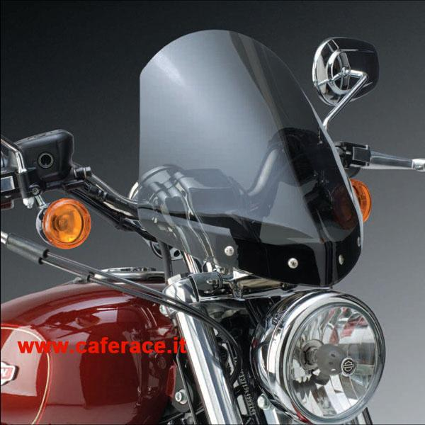 Parebrezza National Cycle Gladiator chiaro per HD XL Sportster Custom dal 1996 al 2011