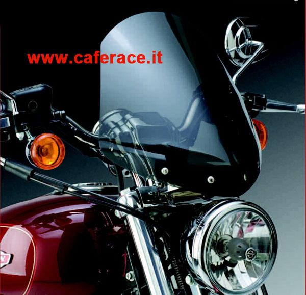 Parebrezza National Cycle Gladiator dark per HD XL Sportster Custom dal 1996 al 2011