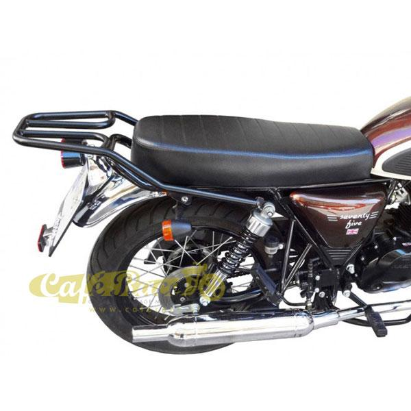Portapacchi nero SPAAN MASH Cafe Racer 125, Seventy-Seventy five, Vintage 125, Two Fifty 250