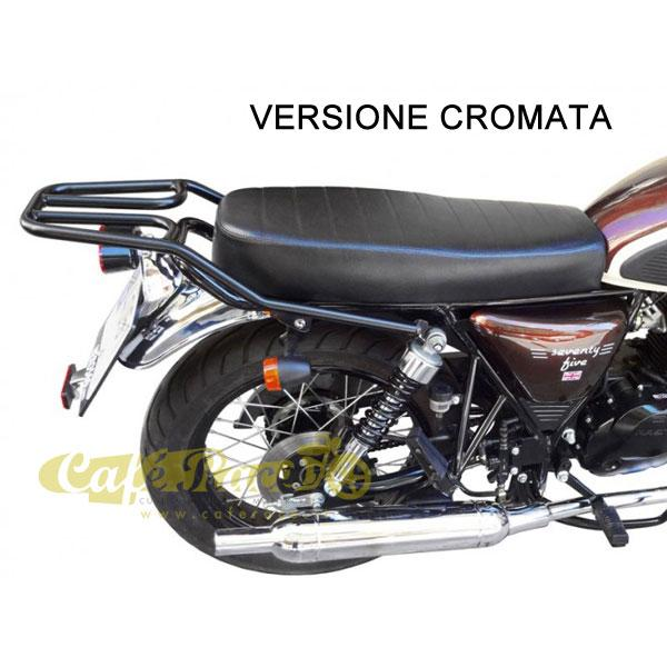 Portapacchi cromato SPAAN MASH Cafe Racer 125, Seventy-Seventy five, Vintage 125, Two Fifty 250